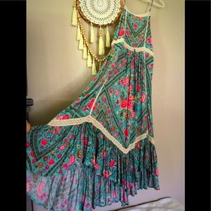 👗ONLY FOR SELL 👗Babushka Midi in Turquoise 👗